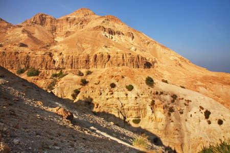 gedi: Mountain near Ein Gedi. Israel