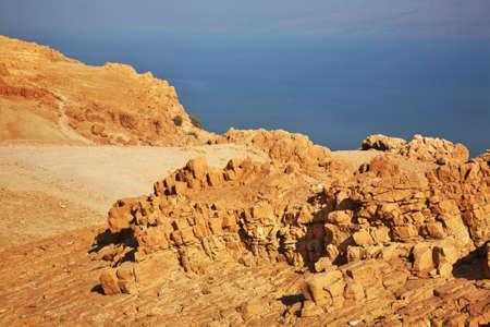 ein: Ein Gedi national park. Israel