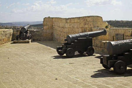 citadel: Citadel in Victoria. Gozo island. Malta Stock Photo
