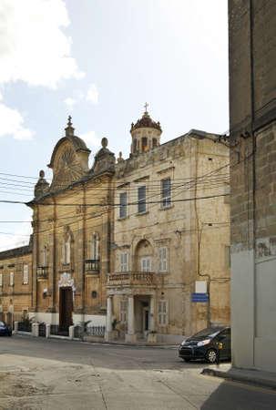 our: Our Lady of Pompeii church in Victoria. Gozo island. Malta