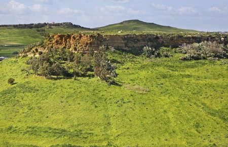 paysage: Landscape near Victoria. Gozo island. Malta