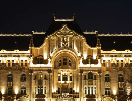 neo classical: Gresham Palace in Budapest. Hungary