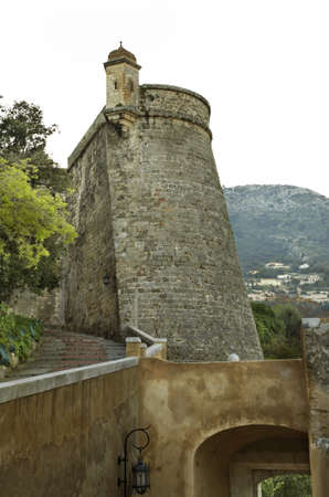 principality: Old fortress in Monaco-Ville. Principality of Monaco Editorial