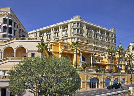 principality: View of Monte-Carlo district. Principality of Monaco