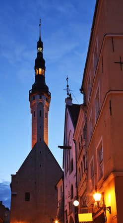 tallinn: Townhouse in Tallinn. Estonia