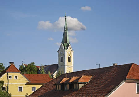 Church of St. Rupert in Krsko. Slovenia