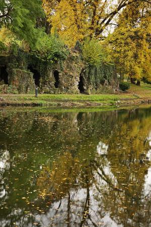 louise: Louise Marie Park in Namur. Wallonia. Belgium