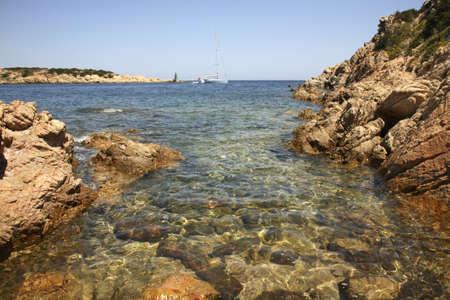 italia: Bay in Porto Cervo. Sardegna. Italia