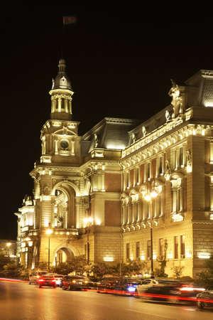 baku: Townhouse. Istiglaliyyat Street in Baku. Azerbaijan Editorial