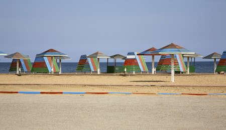 caspian: Caspian Sea in Mardakan. Azerbaijan