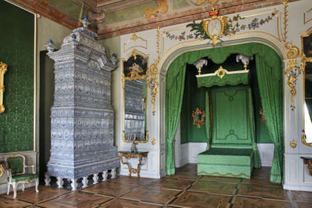 rundale: Rundale Palace near Pilsrundale. Latvia Editorial
