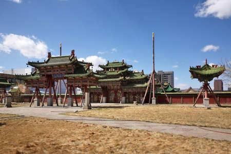 khan: Winter Palace of Bogd Khan in Ulaanbaatar. Mongolia