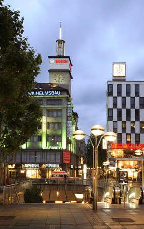 king street: King street in Stuttgart. Germany