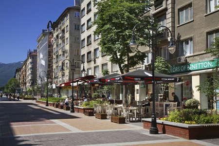 sofia: Slivnitsa boulevard in Sofia. Bulgaria