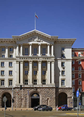 ministers: Council of Ministers of Bulgaria in Sofia. Bulgaria