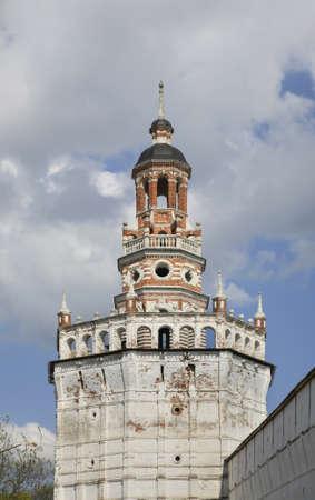 lavra: Duck tower in Trinity Lavra. Sergiyev Posad. Russia Editorial