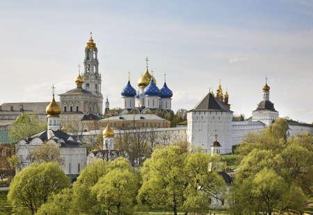 lavra: Trinity Lavra of St. Sergius in Sergiyev Posad. Russia