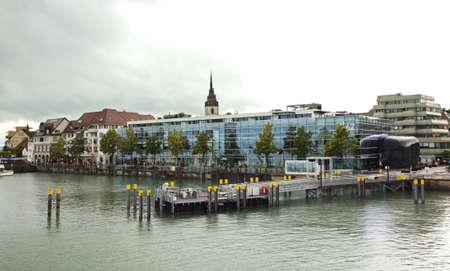 friedrichshafen: Embankment in Friedrichshafen. Germany Editorial