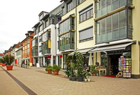 friedrichshafen: Karlshrasse in Friedrichshafen. Germany