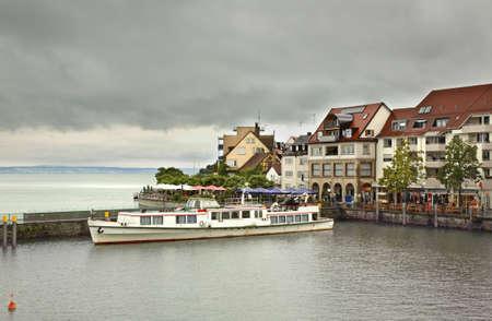 friedrichshafen: Embankment in Friedrichshafen. Germany Stock Photo