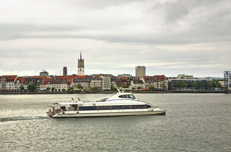friedrichshafen: View of Friedrichshafen. Germany