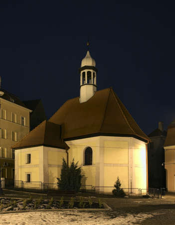our lady of sorrows: Church of Our Lady of Sorrows in Walbrzych. Poland