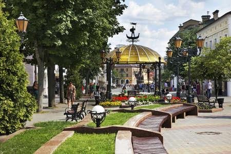 belarus: Sovetskaya street in Brest. Belarus