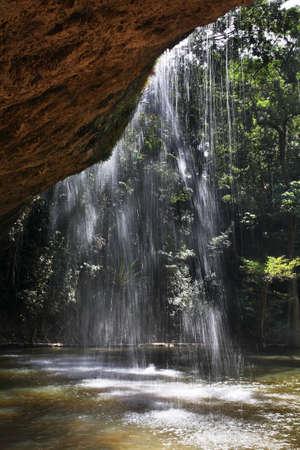 dalat: Prenn waterfall near Dalat. Vietnam