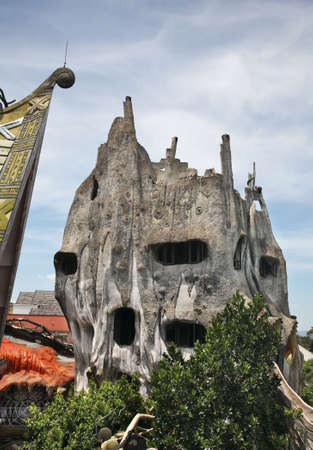 dalat: Crazy House in Dalat. Vietnam
