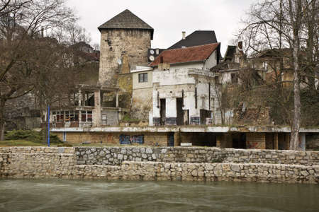 herzegovina: Old town in Jajce. Bosnia and Herzegovina