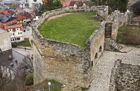 herzegovina: Fortress in Jajce. Bosnia and Herzegovina