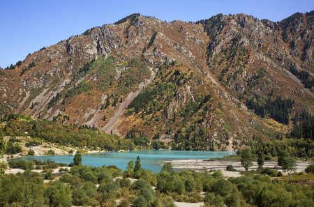 kazakhstan: Lake Issyk. Kazakhstan