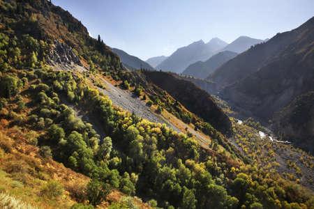 paysage: Issyk canyon. Kazakhstan