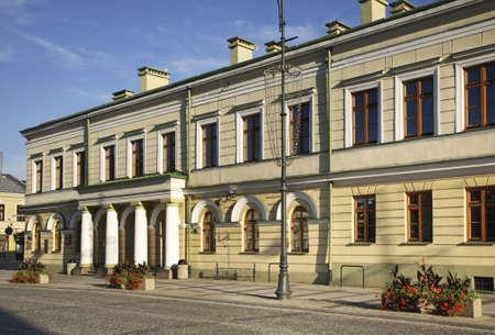 mickiewicz: Adam Mickiewicz street in Suwalki. Poland