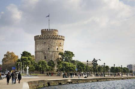 Nikis avenue - Victory avenue in Thessaloniki. Greece