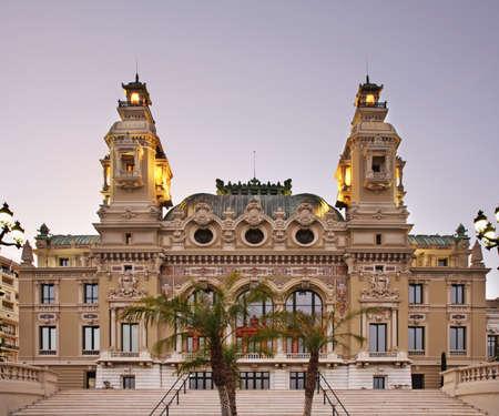 monte: Casino in Monte Carlo. Principality of Monaco Editorial