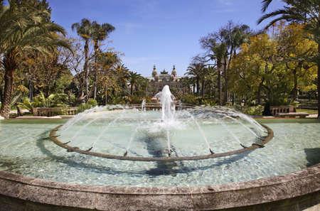 monte carlo: Park in Monte Carlo. Principality of Monaco