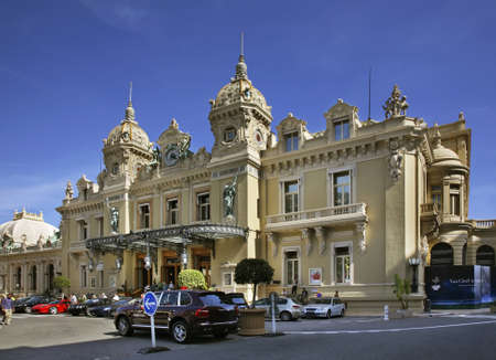 principality: Casino in Monte Carlo. Principality of Monaco Editorial