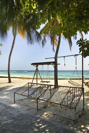 seaboard: Villingili island. Republic of the Maldives