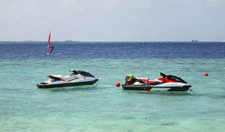 paysage: laccadive sea. Republic of the Maldives Stock Photo