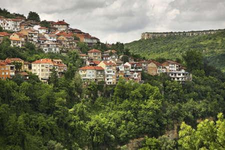 veliko: Panoramic view of Veliko Tarnovo. Bulgaria Stock Photo