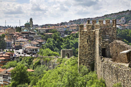 tarnovo: Panoramic view of Veliko Tarnovo. Bulgaria Stock Photo