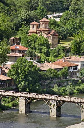 veliko: Vladishki Bridge in Veliko Tarnovo. Bulgaria