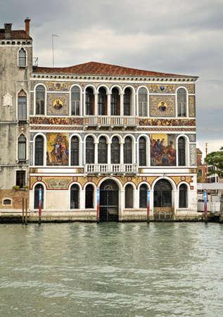 veneto: Palazzo Barbarigo in Venice. Region Veneto. Italy Stock Photo