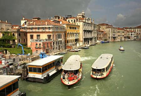 veneto: Grand canal in Venice. Region Veneto. Italy