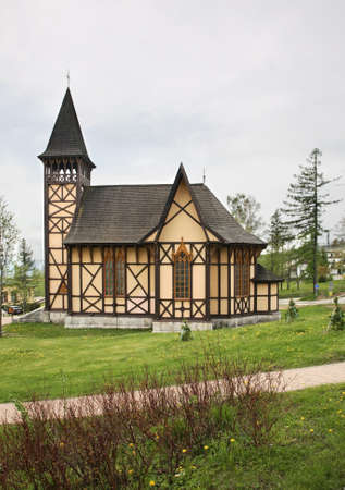 stary: Church of Blessed Virgin Mary in Stary Smokovec. Slovakia