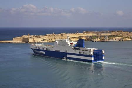 old ship: Fort Ricasoli in Kalkara. Malta Editorial