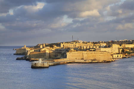fort: Fort Ricasoli in Kalkara. Malta Editorial