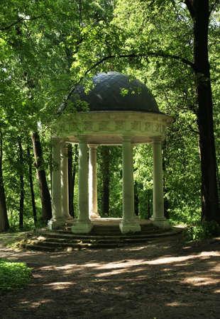 homestead: Venus temple pavilion in old park. Sukhanovo homestead. Moscow region. Russia