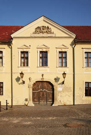 archbishop: Archbishop Residence on St. Nicolas Square in Trnava. Slovakia Editorial